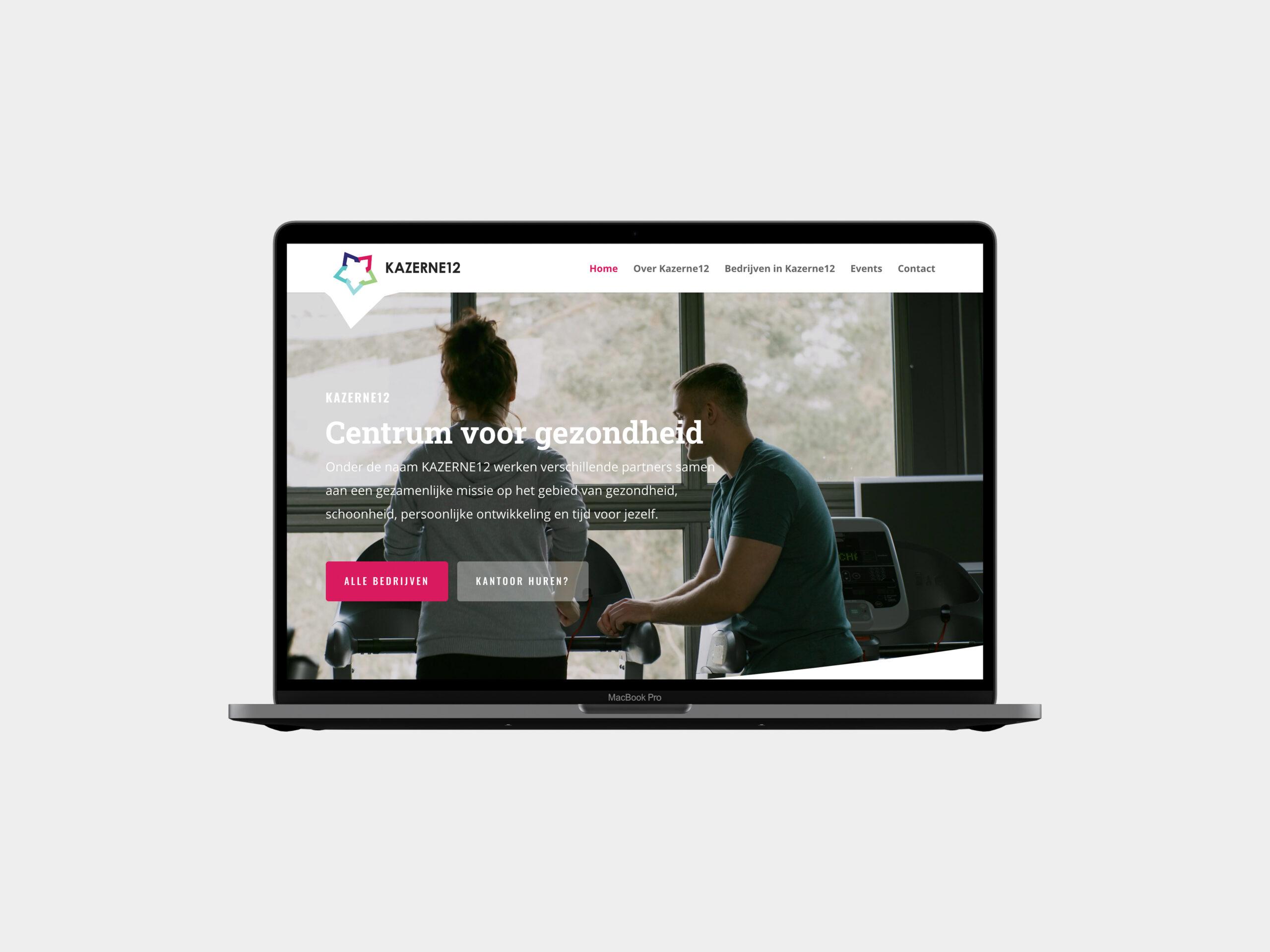 Nieuwe website Kazerne12