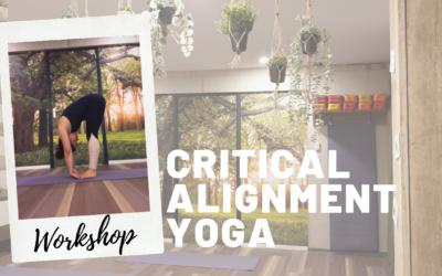 Workshop Critical Alignment Yoga op zondag 25 oktober